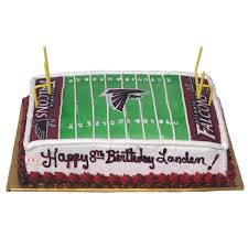 1820 Falcon Football Birthday Cake Abc Cake Shop Bakery