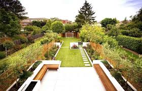 Small Picture Best Of Garden Design Ideas For Large Gardens Narrow Garden On
