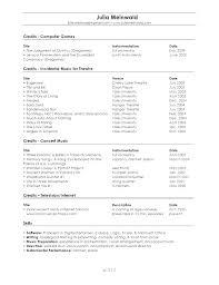 Best Of Musical Resume Template Musician Music Teacher Curriculum ...