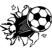 Nástěnná Samolepka Na Zeď Sport Fotbal Fotbalový Míč 139