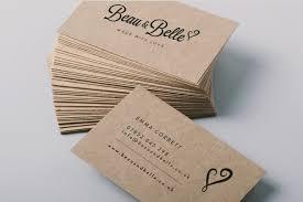 Online Busines Card Business Card Kraft