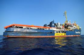 German Captain Defies Italy Again Moves Closer To Lampedusa Port