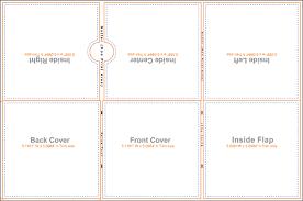 Pocket Template 017 Ed 6 Panel Ecowallet 2 Pocket Th Template Ideas Jewel