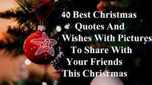 Christmas is a whisper of peace and a sigh of hope on the lips of love, author richelle e. 40 Best Christmas Quotes And Wishes With Pictures To Share With Family