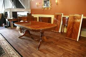 Attractive High End Large Mahogany Dining Table Seats 12 To 14 People On Large Dining