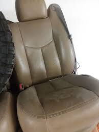 2005 silverado leather seats and center console