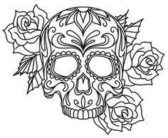Small Picture American Hippie Art Coloring Pages Sugar Skull kit