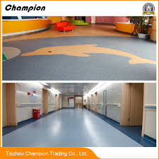 china pvc vinyl commercial flooring in roll for hospital pvc
