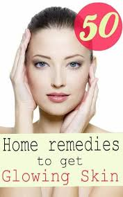 50 simple home remes to get glowing skin