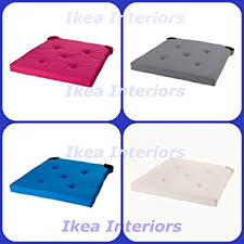 IKEA JUSTINA CHAIR PAD AVAILABLE IN 4 COLOURS PINK BLUE GREY