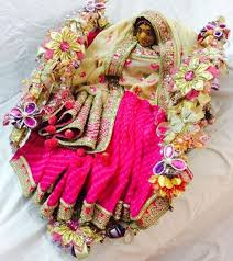Saree Tray Decoration Delectable How To Do Saree Packing Decoration At Home Saree Guide