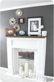 fresh faux fireplace mantel for faux fireplace 63 diy faux fireplace mantel and surround