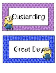 Minion Behavior Chart Minion Clip Chart For Behavior Management In 2019 Products