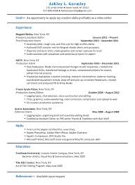 post producer resume news reporter resume example