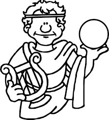 Small Picture Coloring Pages Of Roman Gladiator