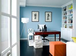 blue home office. Home Office Paint Ideas Mesmerizing Design Color Colors For Crafts Blue