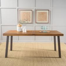Farmhouse Dining Sparta Acacia Wood Rectangle Dining Table By Christopher Knight Home Brown Overstock Buy Modern Contemporary Kitchen Dining Room Tables Online At