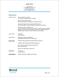 References On Resumes Resume Layout Com