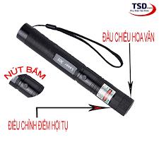 Đèn Pin Chiếu Tia Laser 303