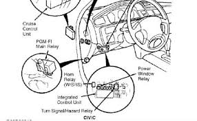1993 honda civic interstate smelled the timing belt and it graphic