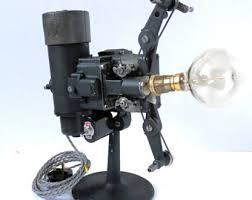repurposed lighting. reworked 1920u0027s vintage bell u0026 howell 16mm cine film projector desk lamp repurposed lighting n