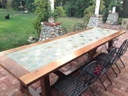 tile table top replacement glass patio table top replacement awesome learn how to build a tile