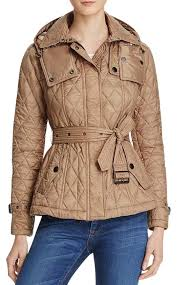 Burberry Pale Fawn Short Finsbridge Quilted Coat Size 12 (L) - Tradesy &  Adamdwight.com
