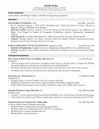 Audio Visual Technician Resume Examples Best Of Technician Resume