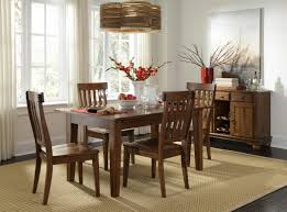 Solid Wood Leg Table With  SelfStoring Leaves By AAmerica Wolf - All wood dining room sets