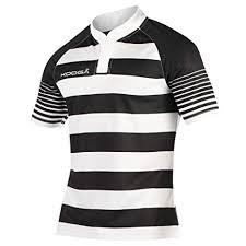 kooga boys junior touchline hooped match rugby shirt b073lx5yrl