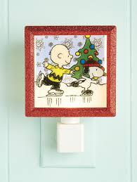 Charlie Brown Night Light Peanuts Skating Night Light Night Light Peanuts Christmas