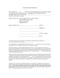 Purchase Agreement Forms Auto Purchase Agreement Form DOC by nyy24 purchase contract 1