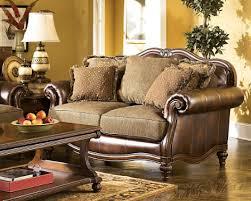 claremore antique living room set. Ashley Claremore \u2013 Antique Loveseat Claremore Antique Living Room Set N