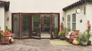 Jeld wen folding patio doors Indoor Outdoor Jeldwens New W4500 Wood Folding Patio Door Is Wall System That Allows Homeowners To Make The Most Of The Space They Have Professional Builder Jeldwen W4500 Wood Folding Patio Door Professional Builder