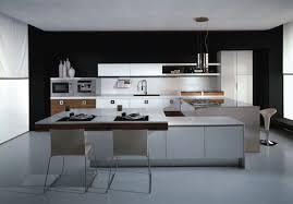 One Wall Kitchen Design Modern Grey Minimalist High End One Wall Kitchen Sleek