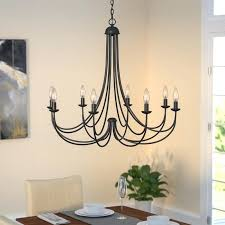 chandelier that turns your room into a forest 8 light candle style with decor 7