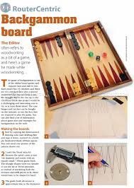 Wooden Board Games Plans Backgammon Board Plans Woodworking plans Woodworking and Board 54