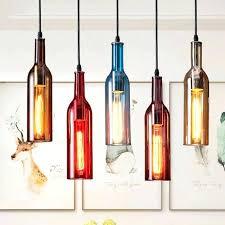 wine bottle chandelier 4 diy kit ideas