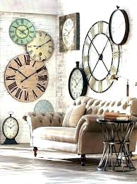 large round wall clock rustic metal wall clock large rustic wall clock round wall clocks large 5 ways to spruce up bare walls clock rustic punched metal