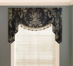 waverly country house toile black valance valances