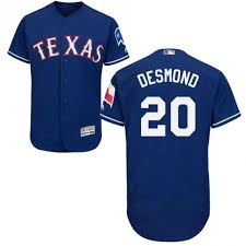 Authentic Texas Flexbase Ian Rangers Player Collection Majestic Mlb Men's Jersey Desmond Official Royal