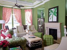 Pink And Green Living Room Living Room Colour Ideas And Schemes In Exquistie 23 Design Ideas
