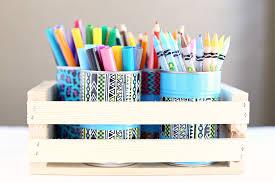 DIY Pencil Holder & Art Organizer