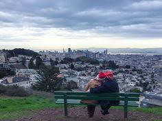a secret hike picnic with a view at tank hill san francisco adobe tank san francisco
