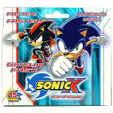 I can't help but feel a lot of people passed this off when it was announced just because some of the cooler kids were seen dismissing it. Sonic The Hedgehog Starter Deck Sonic X Walmart Com Walmart Com