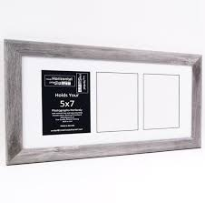 5x7 multiple 3 4 5 6 7 8 9 10 opening driftwood picture frame with matting multi opening photo frame collage