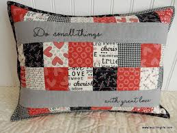 Valentine's Quilted Pillow | A Quilting Life - a quilt blog & Valentine's Quilted Pillow Adamdwight.com