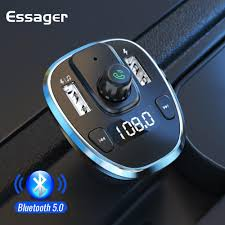 <b>Essager</b> USB Car Charger For <b>Mobile Phone</b> Bluetooth Handsfree ...