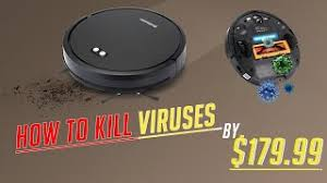 How to Kill Viruses with Upgrade <b>Alfawise V8S Max</b> Vacuum ...