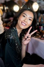 liu wen poses before the 2018 victoria s secret fashion show at pier 94 on november 8